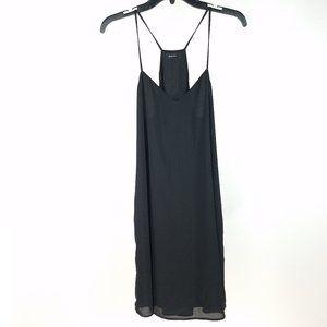 Babaton Aritzia Black Eugene Cami Slip Dress